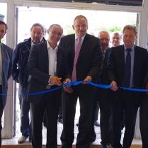 Inauguration de la Semaine de l'Océan par le Président du Conseil Général de la Moselle et par Thierry Hory Maire de Marly