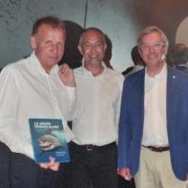 Patrick POIVRE D'ARVOR, Patrice HERAUD et Jean-Yves PERROT