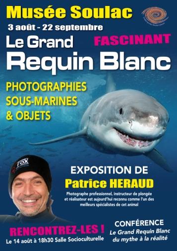 Affiche expo et conférence Soulac