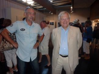 Patrice HERAUD et le Sénateur Maire Xavier PINTAT